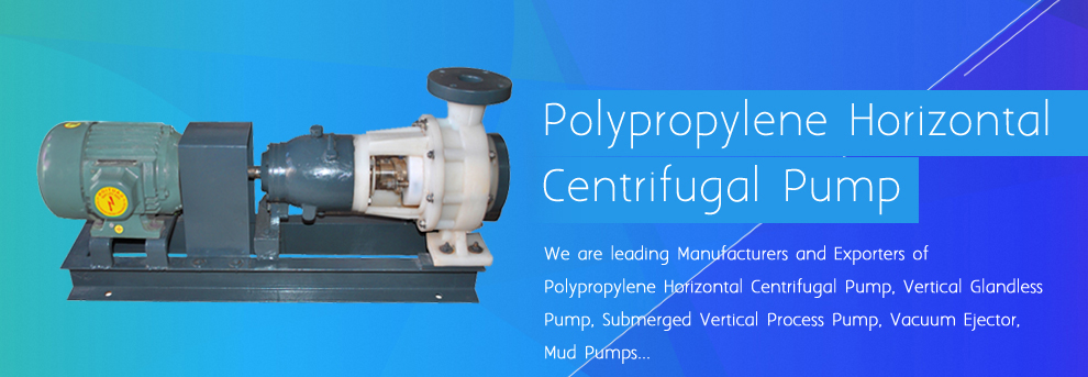 polypropylene pumps manufacturers india